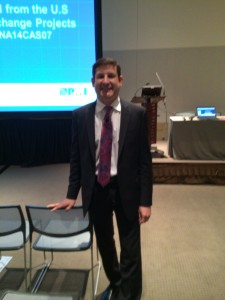 Dominic Lepore at 2014 PMI Global Congress